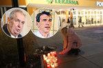 Zeman popsal strach o syna: Minuty hrůzy při ostravském masakru, před policií smeká