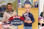 Noví prodejci na Jarmarku Blesku: Maminka dvou dětí Lucie nabídne dekorace i hračky pro děti!