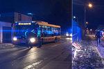 Řidič autobusu MHD boural a ujel od nehody i s cestujícími, oznámila policie!