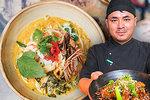 Z Nepálu až do Prahy: Shajan (30) tu vaří tradiční asijské dobroty, nejvíce ho zaujaly české knedlíky