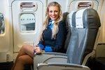 Lucie Borhyová mění profesi? Se sexy letuškou až do oblak!