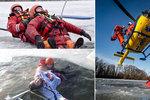 Led má v Česku první oběť. Kdy bude bezpečný a co dělat, když se pod někým proboří?