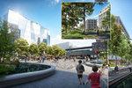 Nové centrum Jižního Města bude na Opatově: Náměstí obklopí moderní domy, ulice ozdobí stromořadí