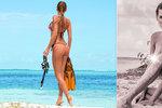 Andrea Verešová a její stále odvážnější fotky: Bradavky v pozoru a písek tam dole...