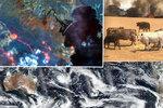 Oblak dýmu z požárů v Austrálii oběhne zeměkouli, tvrdí NASA. Svět něco takového nepamatuje
