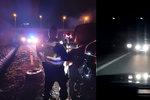 Šílený řidič v protisměru! Petr v Mostě kvůli hazardérovi naboural, viník z místa ujel