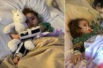 Chřipka v Česku má první oběť. Kvůli viru přišla holčička (4) z USA o zrak