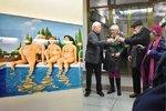 DiCaprio jako polární medvěd? V centru Prahy je Matuškova výstava, co v lednu zahřeje