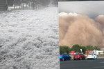 Další apokalypsa v hořící Austrálii: Po silném krupobití se přihnala písečná bouře