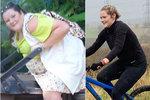 Pětadvacetiletá Steph Stykes z Británie odjakživa trpěla nadváhou, ale po smrti svého otce se začala nekontrolovatelně přejídat. Za dva roky její váha vystoupala až ke sto šedesáti kilogramům. Pohled zoufalé matky ji ale nakonec přinutil učinit rozhodnutí, díky kterému zhubla o úžasných devětaosmdesát kilo! Steph si pro završení své proměny vzala půjčku na osmnáct tisíc liber, tu použila na chirurgické odstranění přebytečné kůže a zvětšení prsou.