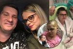 Zuzka dostala v těhotenství mrtvici: Porodila během operace mozku, teď je ale ochrnutá