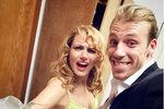 Gábina Koukalová po návratu z dovolené: Zpátky v náruči svého tanečníka!