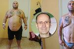Pavel (45) za rok zhubl 60 kilo! Trápení k úspěchu nevede, klíč je jinde, vzkazuje obezitolog