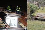 Chlapec (11) na Děčínsku zapálil dům a zabarikádoval rodinu: Jeho první slova zaskočila i policisty