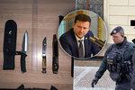 Útočník ze Sněmovny skončil ve vazbě, řekl Vondráček. Na poslance si vzal nože a obušek