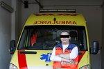 Záchranáře Jirku zabila krutá nemoc: Kolegové chtějí pomoci jeho ženě a dítěti