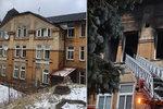Rok od požáru ve Vejprtech: Uhořelo osm chovanců, tři skončili na psychiatrii