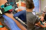 Už ani slzičku při odběru krve! V Havířově mají vychytávku: Vibrační berušku
