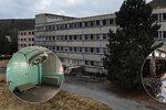 Utajovaná nemocnice u Berouna po 50 letech najde využití: Místo obětí války v ní budou důchodci