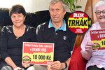 Už v pátek první kupon superhry Blesku Trhák! Jak si užili výhru 10 tisíc naši čtenáři?