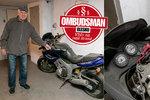 Motorka pět let překáží v garáži a nikdo se k ní nehlásí: Máte podobný problém?