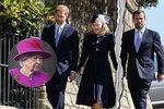 Další trápení královny Alžběty: Vnuk oznámil nejen útěk do Kanady, ale i rozvod!