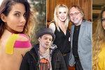Počet zraněných celebrit roste! Bolestí úpí Lounová, Decastelo, Jandová a řada dalších