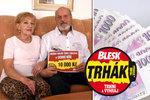 Manželé Vavrečkovi z Ostravy vyhráli v Trháku 10 tisíc: Krásný dárek k narozeninám!