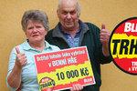 Paní Adriena (69) vyhrála v Trháku: Za 10 tisíc do lázní!