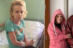 Trable Krampolové nekončí: Po převozu do blázince si zlomila stydkou kost!