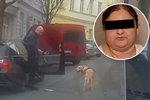Tohle je taxikář, který vytáhl nevidomou Květu z vozu: Myslel jsem, že jí jde pomoct vystoupit, říká svědek, který ho natočil