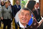 Summit o rozpočtu v Bruselu skončil fiaskem. Babiš zmínil zlobu i pozvání pro Merkelovou