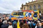 Tatrou znovu kolem světa: Na tříleté misi byl první zádrhel na D1 kvůli mýtu
