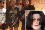 Synové Michaela Jacksona slavili narozeniny a po čase se ukázali! Sestra jim přála po svém
