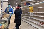 """""""Lidi, neblbněte, jídla je dost."""" Před nájezdy na supermarkety varují Babiš i experti"""