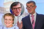 """Babišova slova o """"vlastizrádcích"""" chce řešit šéf europarlamentu. Na popud """"pomatené"""" ženy"""