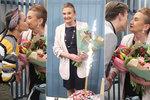 Oslavenkyně Eva Holubová (60): Kolegové ze Slunečné ji zastihli nepřipravenou!