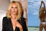 Krainová si vyběhala sexy křivky: Na Zanzibaru špulí skvostný zadeček!