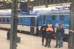 Tragédie na brněnském nádraží: Muže zde smetl vlak, nehodu nepřežil