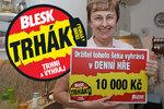 Stáňa (71) z Prahy: Blesk je jednička! Trhák mi přinesl 10 tisíc na troje narozeniny!
