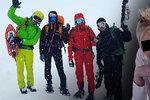 Smrt Čechů na Dachsteinu: Lavina vzala Dominice bráchu i kamarády! Zveřejnila další zdrcený vzkaz