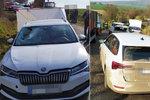 Auto smetlo dva pracovníky údržby: Jeden z nich zemřel! Pak přišla další srážka