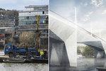 Dvorecký most o vrt blíž: V polovině dubna bude dokončen geologický průzkum. Kdy se začne stavět?