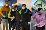 Sedli na kola a rozvážejí vlastní roušky: Mladíci plánují v Litovli i dopravu jídla