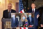 Prezidenti a koronavirus: Čaputová v roušce, Trump v kleštích. Zemanovi zrušili summit v Číně