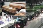 Italská apokalypsa už předčí Čínu! Krematoria nestíhají: Mrtvé odváží armáda
