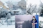 Sníh zpátky v Česku, hrozí náledí, sledujte radar Blesku. Rosničky roušky odložit nesmí