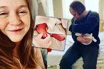 Biožínka Doležalová o komplikovaném porodu: Rudy šel na svět stejně jako Alfí!