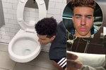 Mladý idol sociálních sítí olizoval záchodovou mísu: Nakazil ho koronavirus