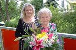 Maminka Pilarové (†80) Františka slavila 105. narozeniny: Eva »přála« ze záhrobí!